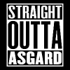 Straight Outta Asgard - Men's T-Shirt