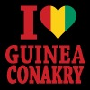 I Love Guinea Conakry Flag t-shirts - Men's T-Shirt
