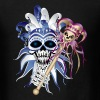 Jester Skull - Men's T-Shirt