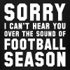 Sound Of Football Season - Men's T-Shirt
