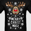Deer Rudolph Xmas - Men's T-Shirt