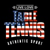 Live Love Table Tennis US - Men's T-Shirt