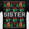 Sister Ugly Christmas Sweater - Men's T-Shirt