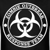 Zombie Outbreak Response Team | Gaming Athletic Ge - Men's T-Shirt