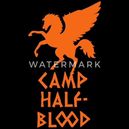 Camp Half Blood By Robinlund Spreadshirt
