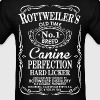 Rottweilers Old Time No1 Breed Canine Perfection - Men's T-Shirt