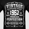 Vintage 1962 Vieilli á la Perfection blanc - Men's T-Shirt