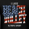 I Love Beach Volley USA - Men's T-Shirt