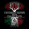 Canadian Grown With Italian Roots - Men's T-Shirt