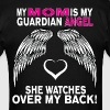 MY MOM IS MY GUARDIAN ANGEL - Men's T-Shirt