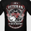 I'm A Veteran - Men's T-Shirt