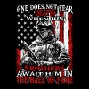 Patriot - Brothers await him in the hall of fame - Men's T-Shirt