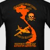Agent Orange Vietnam Veteran Wounded By Friendly F - Men's T-Shirt