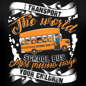 The World School Bus T Shirt, Driver T Shirt