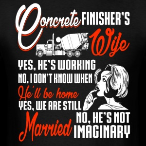 Concrete Finisher's Wife T Shirt, Concrete T Shirt