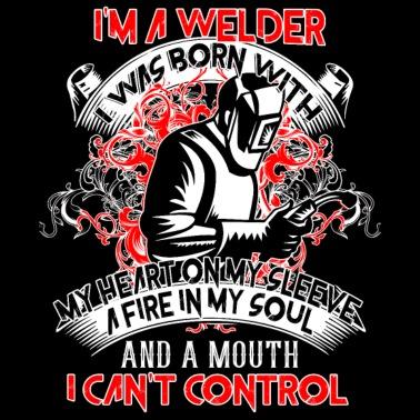 My Heart Belongs To A Welder T Shirt Women S Premium Hoodie