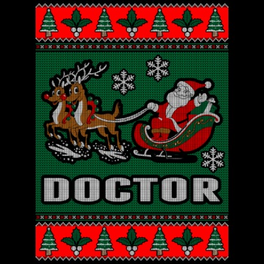 85134cb706 Doctor Ugly Christmas Sweater - Men's T-Shirt