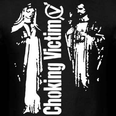 f207cf404b7 Choking Victim Leftover Crack Subhumans Crass Ameb Men s T-Shirt ...
