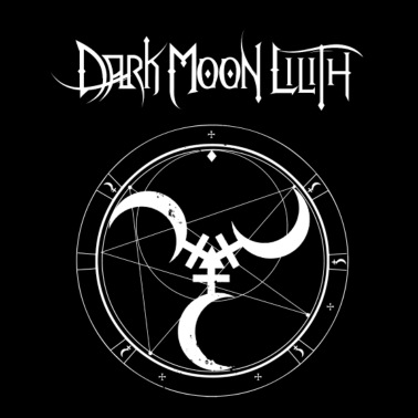Dark Moon Lilith Astro Men's T-Shirt - black