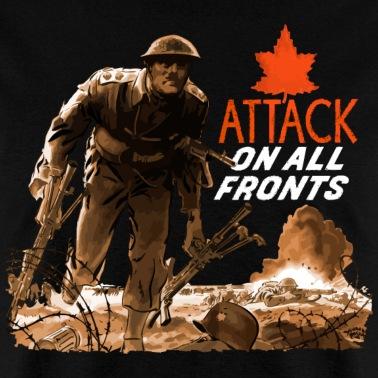 WW2 Canadian Grenadier Men's T-Shirt   Spreadshirt