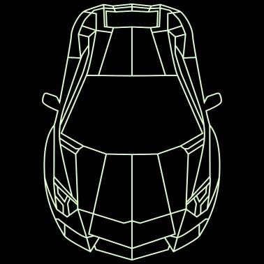 Gangsters Loves Lamborghini Unisex Fleece Zip Hoodie Spreadshirt