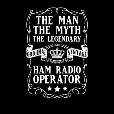 Ham Radio Operator Men's Premium T-Shirt - heather gray