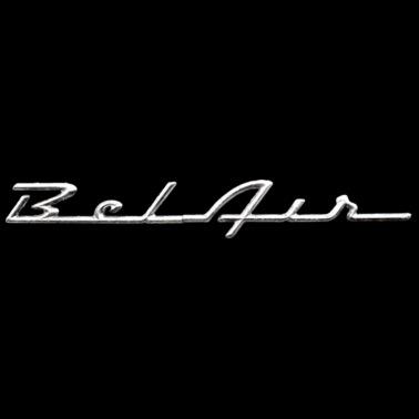 Distressed Chevrolet Bel Air Script Emblem Dd Mens T Shirt