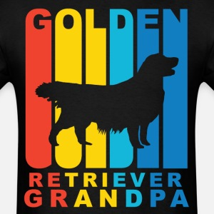 Golden Retriever Grandpa Dog Grandparent T-Shirt
