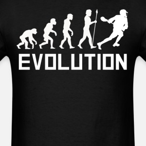 Lacrosse Player Evolution Funny Lacrosse Shirt