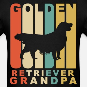 Retro Style Golden Retriever Grandpa
