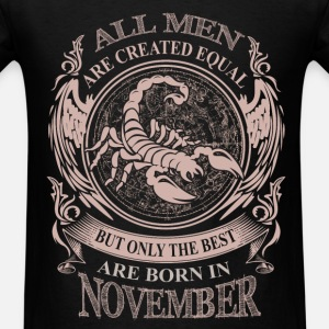 Men the best are born in November