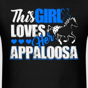 This girl loves her Appaloosa Shirts - Men's T-Shirt