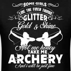 Archery Girl Shirt - Men's T-Shirt