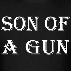 Son Of Gun Happy Fathers Day - Men's T-Shirt