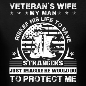 Veteran Wife Shirt - Men's T-Shirt
