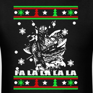 Viking Christmas Tshirt - Men's T-Shirt