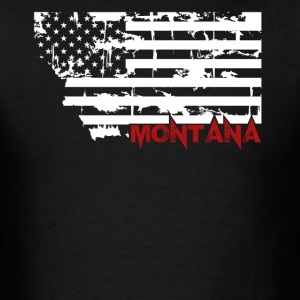 Montana Flag Shirt - Men's T-Shirt
