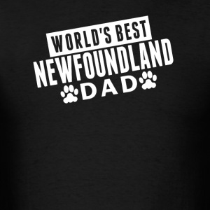 World's Best Newfoundland Dad - Men's T-Shirt