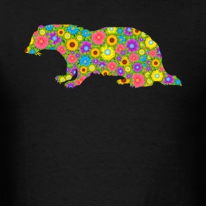 Badger Flower Tshirt - Men's T-Shirt