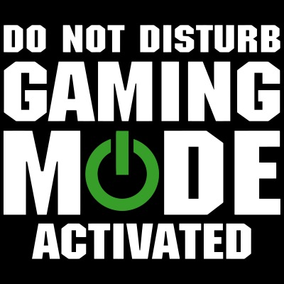 Do Not Disturb Gaming Mode Activated