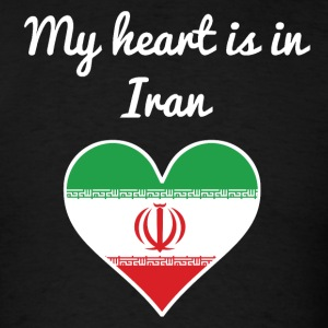 My Heart Is In Iran - Men's T-Shirt