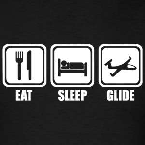 Glide - Eat Sleep Glide - Men's T-Shirt
