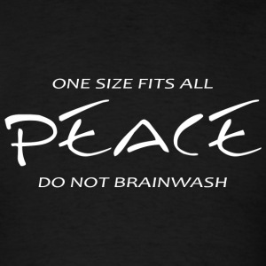 Peace - Peace -- One Size Fits All - Men's T-Shirt