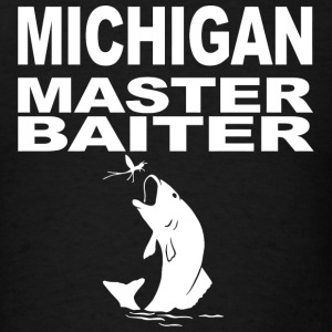 Michigan - michigan master baiter - Men's T-Shirt