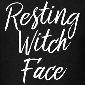 Witch - Resting Witch Face - Men's T-Shirt