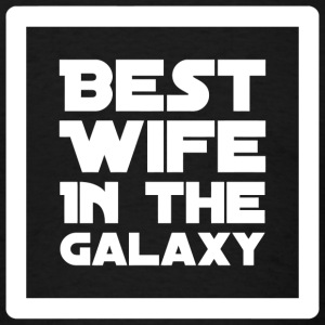Wife - Best Wife in the Galaxy - Men's T-Shirt