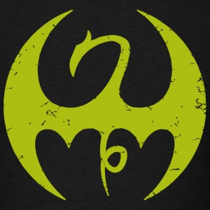 Iron cross - Marvel Iron Fist Distressed Dragon - Men's T-Shirt