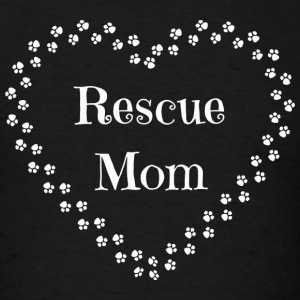 Rescue Mom - Rescue Mom-Dog and Cat Rescue Tee - Men's T-Shirt