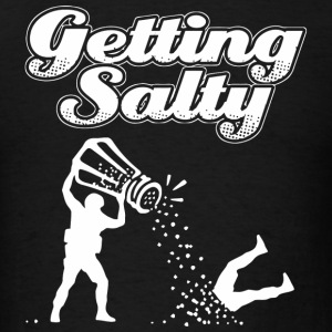 Salty - Counter Getting Salty League Funny GO G - Men's T-Shirt