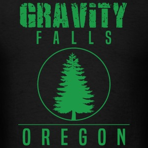 Gravity Fall - Gravity Falls Oregon Pine - Men's T-Shirt